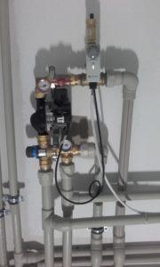 Elementy hydrauliczne w kotłowni 16