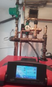 Elementy hydrauliczne w kotłowni 47