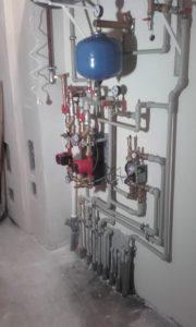 Elementy hydrauliczne w kotłowni 39